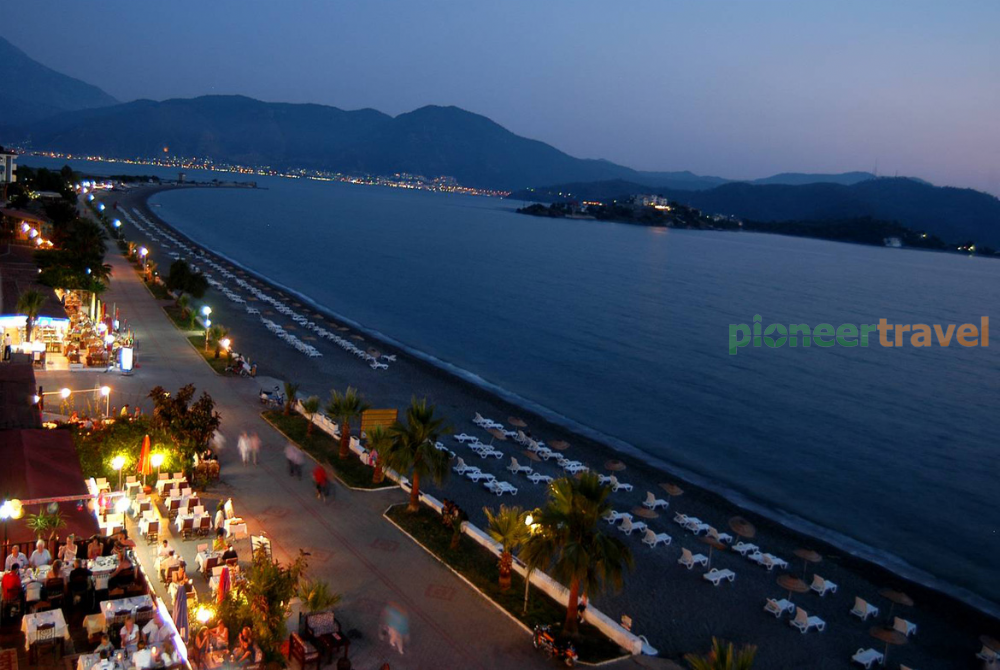 Calis Beach Fethiye Holiday Pioneer Travel